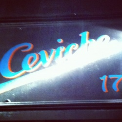Ceviche restaurant Soho