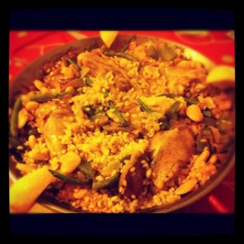 Jon's paella