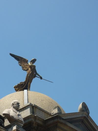 Mausoleum in Recoleta Cemetery, Buenos Aires