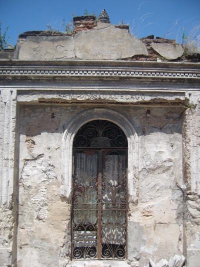 Ancient tomb, Recoleta Cemetery