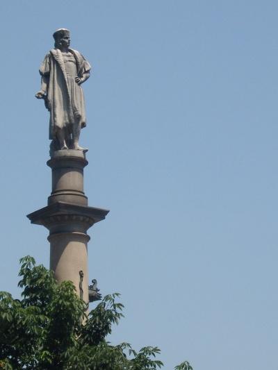 Christopher Columbus statue, Columbus Circle