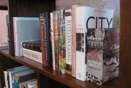 Books in Columbus apartment