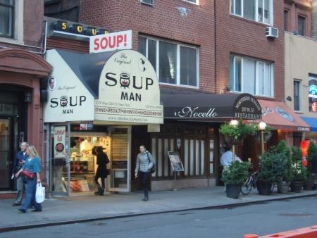 Original Soup Man stand