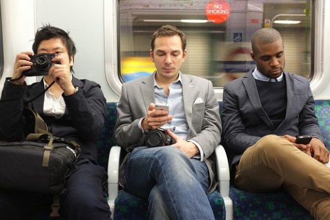 London Underground commuters