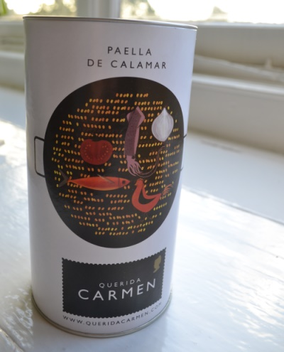 Paella in a can from Grey's Fine Foods